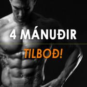 TILBOÐ-4-MANUDIR