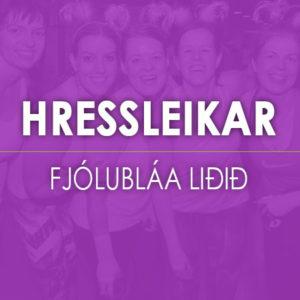 HRESSLEIKAR-FJOLUBLAA-LIDID