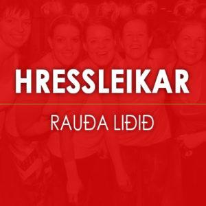 HRESSLEIKAR-RAUDA-LIDID