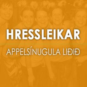 Hressleikar---APPELSINUGULA-LIDID