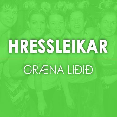 Hressleikar---GRAENA-lidid